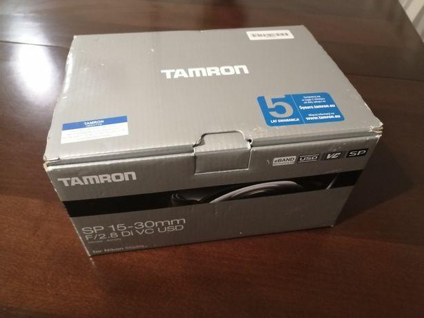 Tamron 15-30mm F2.8 Di VC USD SP Nikon STAN IDEALNY.