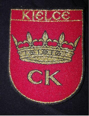 Naszywka, emblemat, tarcza z herbem Kielce