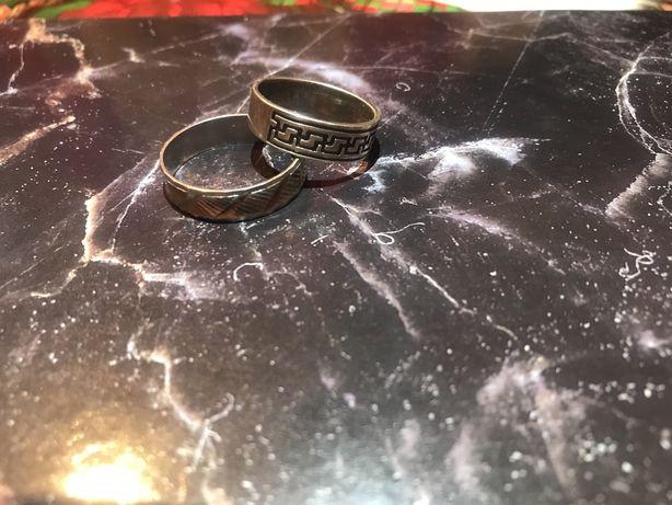 Продам кольца мужские серебро, браслет и печатка 925 проба идеал