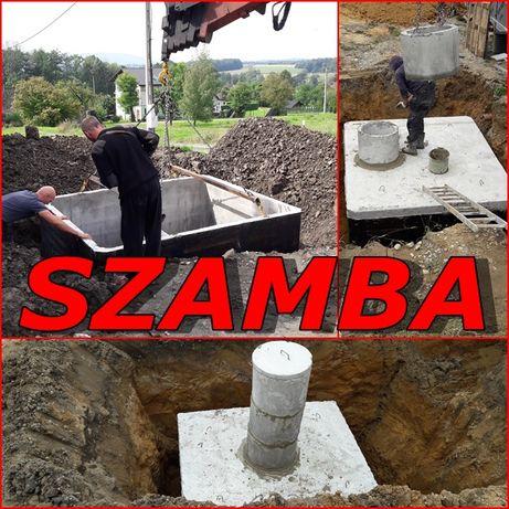 Szamba betonowe 2m3+NAJAZD Szambo ATEST APROBATA