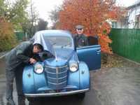 ретро автомобиль Москвич 401