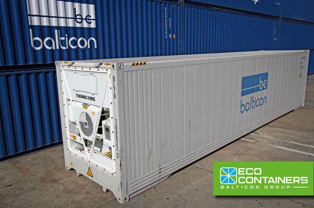 Chłodnia mroźnia kontener morski chłodniczy 40'HCRF wynajem