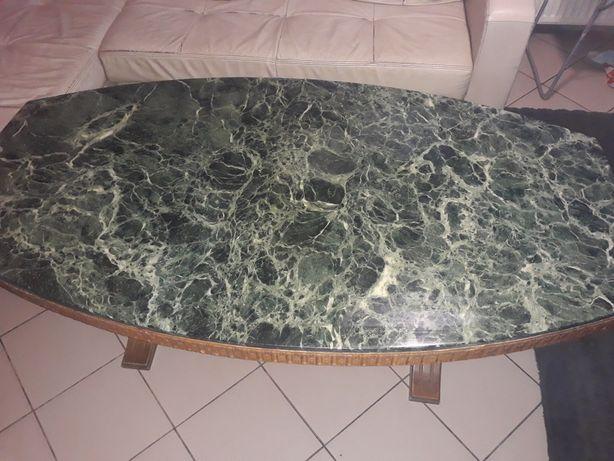 Ławo stół z marmurem