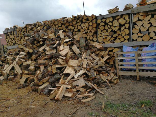 Drewno kominkowo opalowe