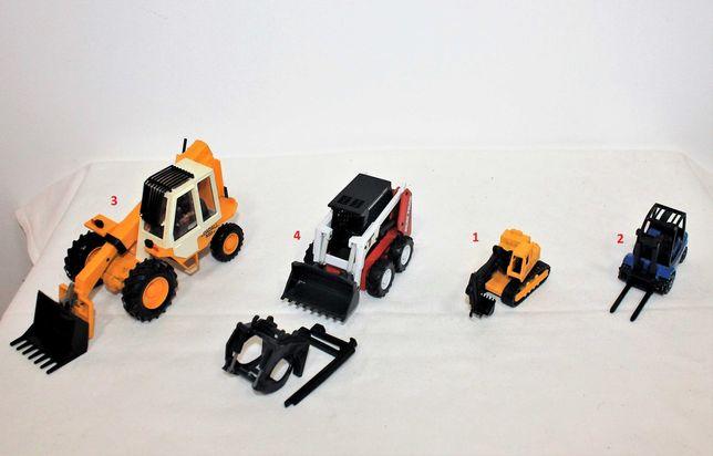 Escavadoras, Mini carregadeira e Empilhador, escala 1/64 e 1/32