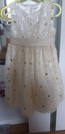 Sukienka wizytowa dla dziewczynki wesele