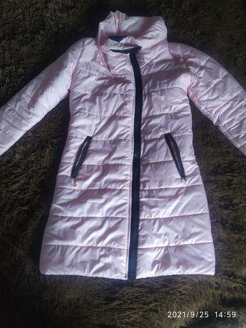 Куртка, курточка, зефирка розовая