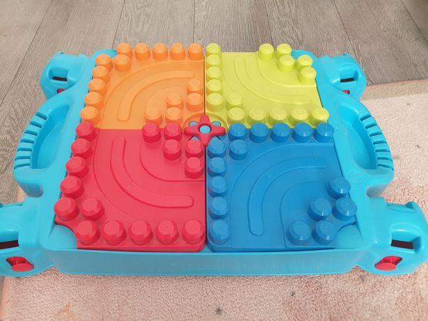 Sprzedam stoliczek do układania klocków Mega Bloks