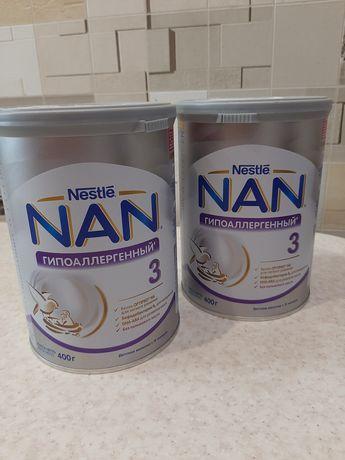 Смесь для кормления. Nan гиппоалергенный. Нан 3 .Nan детская смесь.
