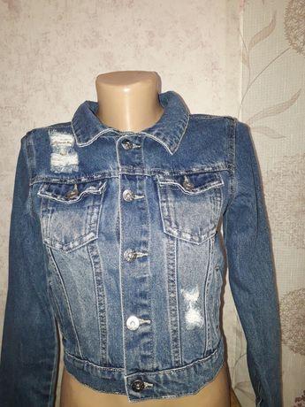 Стильный пиджак для девочки Denim