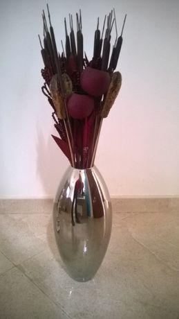 Jarra Spal com Flores secas