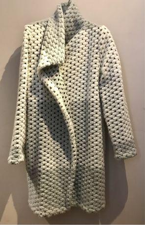 Płaszcz przejściowy FIGL XL idealny z wełną