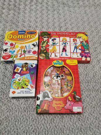 Zestaw gier na wiek 3-4 lata + extra zestaw Play Doh