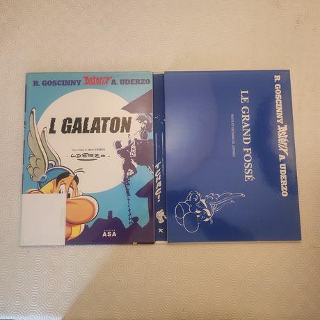 Livros Asterix Obelix