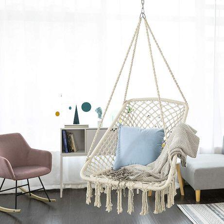 wiszący fotel huśtawka