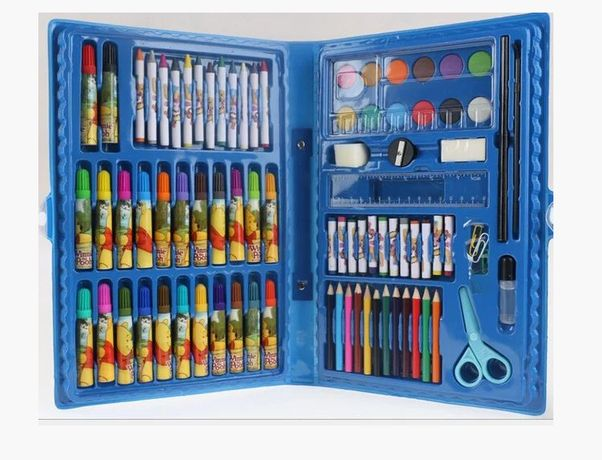 SALE Набор для рисования / Голубой / Художественный / Подарок мальчику