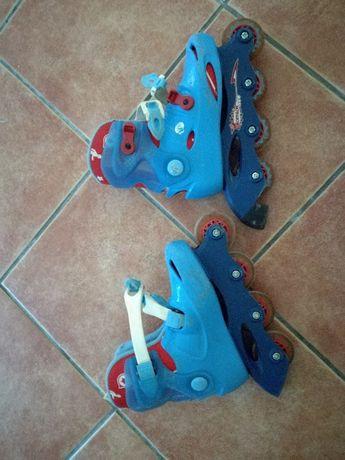 patins de criança tamanho 31