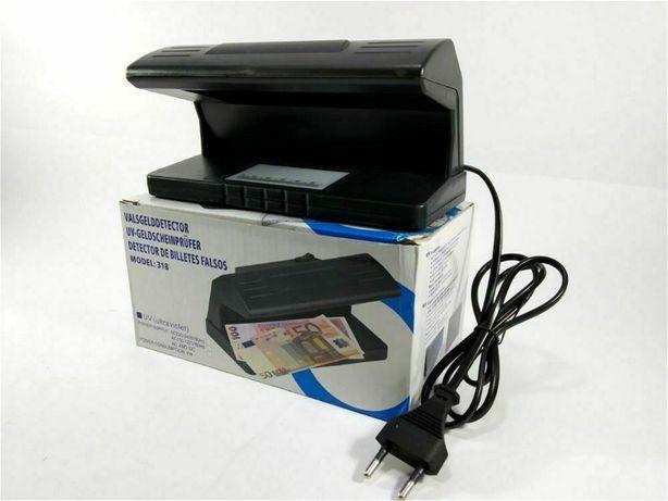 Детектор Валют UKC 318 УФ Лампа для Денег от сети Черная