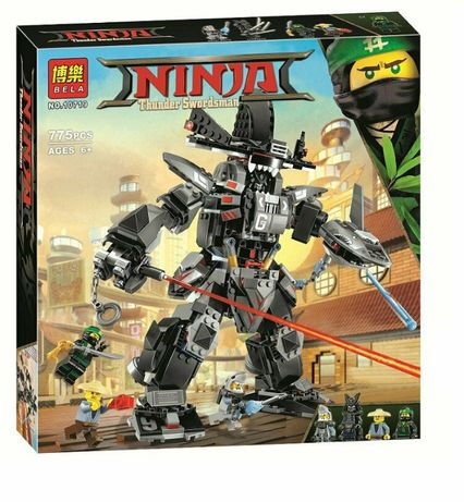 Конструктор Bela 10719 Аналог Lego Ninjago 70613 Робот Гарм 775 детале