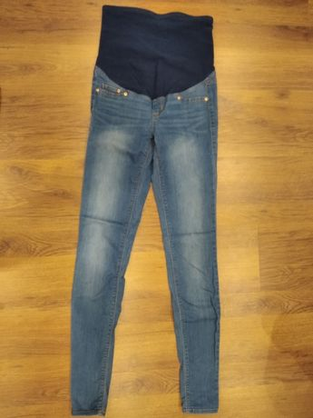 Jeansy ciążowe H&M MAMA roz 34