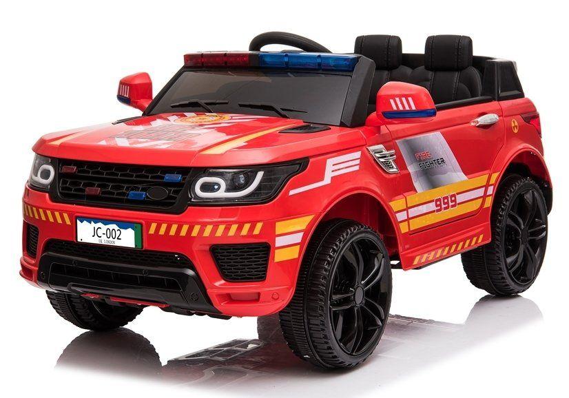 Samochód STRAŻ POŻARNA na akumulator dla dzieci Miękkie Koła+Skóra Krzeszowice - image 1