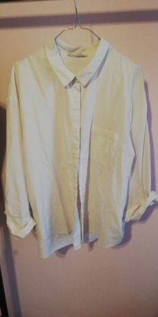 Biała koszula violetta by mango XL 44