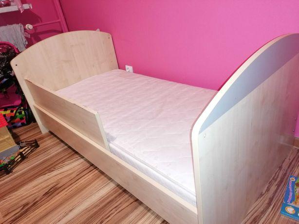 Łóżka łóżeczko 140x76 dla niemowlaka i przedszkolaka materac Koło