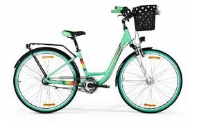 Rower miejski Merida Cityway 728 - zielony