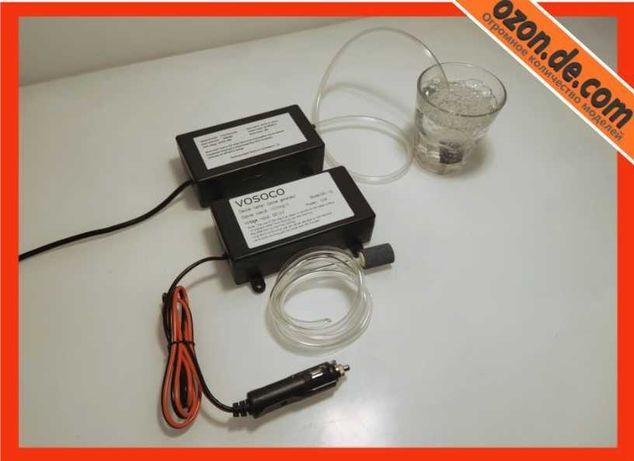 Озонатор 3в1 ионизатор вода воздух продукты для кухни 12 и 220 вольт