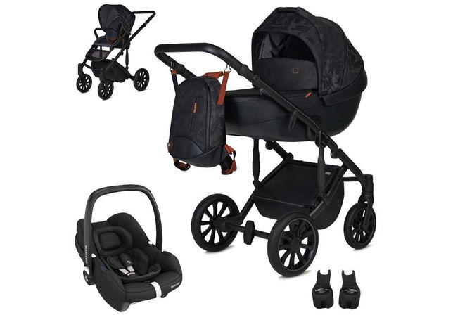 Anex m/type HIDE z fotelikiem Maxi-Cosi Tinca 0-13kg - wózek 3w1