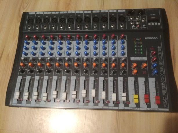 12-kanałowy mikser audio Ammoon 120S-USB