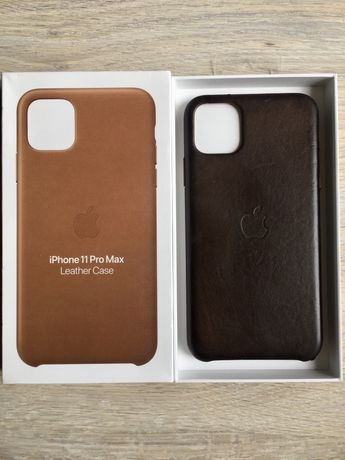 Etui case skórzane iPhone 11 Pro Max