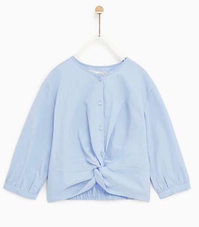 ZARA nowa niebieska koszula 11-12 lat 152 cm
