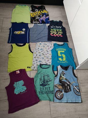 Zestaw Koszulka na lato dla chłopca. Billabong, H&M. 110/116