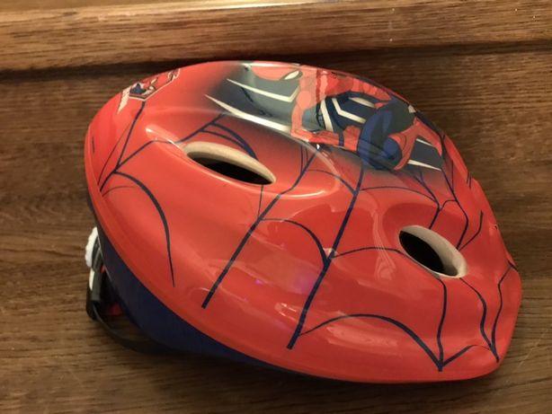 Kask rowerowy 52-56 cm spiderman