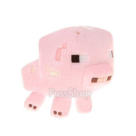 Мягкая игрушка герой Майнкрафт Свинья /Свинка 16 см Minecraft