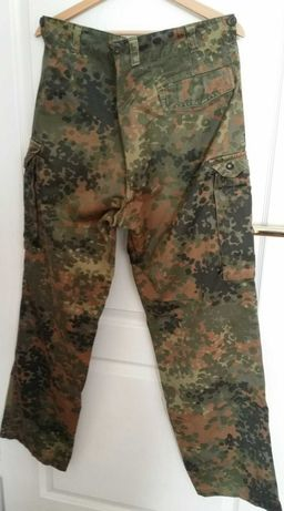Oryginalne, niemieckie spodnie moro