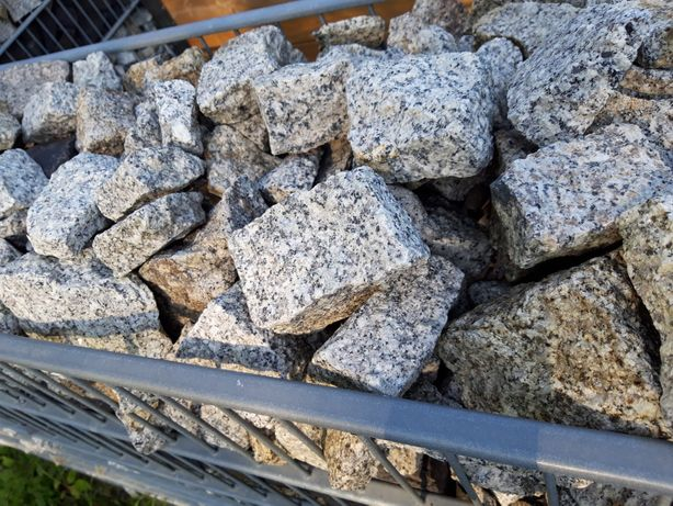 Kostka granitowa do gabionów