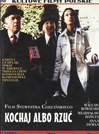 Kochaj Albo Rzuć DVD Polsat oryginał Sylwester Chęciński