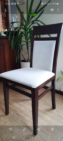 Krzesło gięte Paged Meble wenge-kremowe