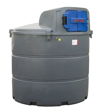 TARNOBRZEG - Dwupłaszczowy DESO 2350 litrów. Zbiornik na ON/DIESEL