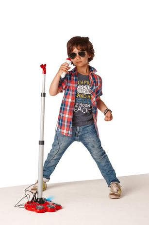 Mikrofon Superstar STATYW TCHIBO