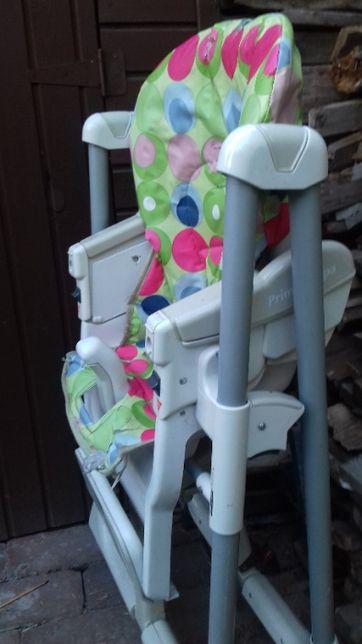 super krzesełko rozkładane dla malucha Prima papa