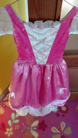 Sukienka na bal przebierancow, karnawał dla księżniczki 5-7 lat
