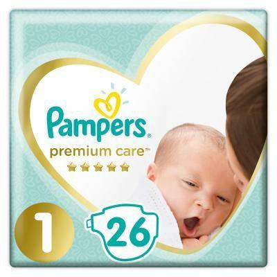 Pampers Premium Care розмір 1, 2-5 кг, 26 шт.