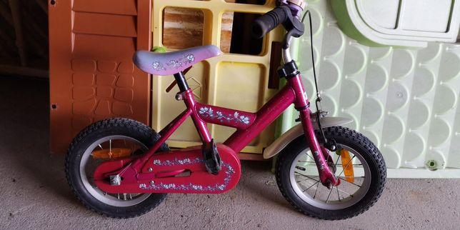 Rowerek dla dziewczynki kółka 12 cali