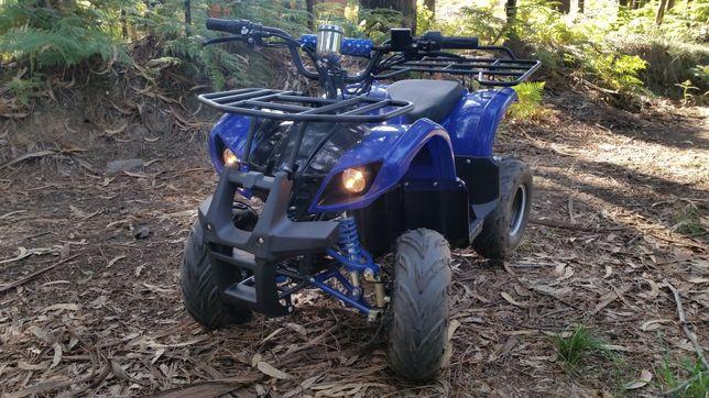 Mini mota quad eléctrica moto 4 ATV elétrica 1000W 48V várias cores