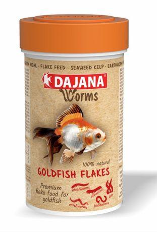 Dajana Worms Goldfish flakes 100ml płatki