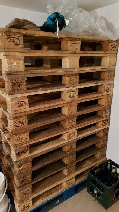 Palety drewniane, suche, trzymane pod wiatą Aleksandrów Łódzki - image 1