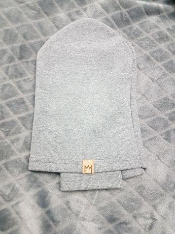 Komplet czapka z kominem